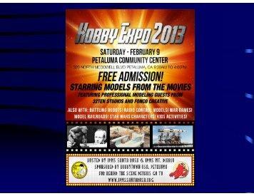 Take a Virtual Tour of Hobby Expo 2013 - IPMS Santa Rosa