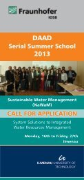 System Solutions to Integrated Water Resources ... - VGU.edu
