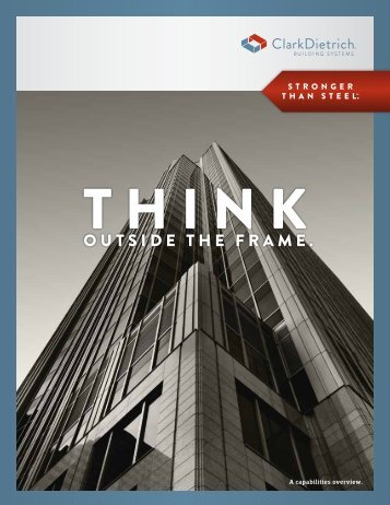 Capabilities Brochure - Clarkdietrich Building Systems