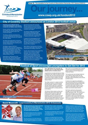 Issue 15 - Coventry 2012 - CSWP