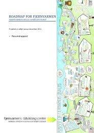 Resumérapport - Fjernvarmens Udviklingscenter