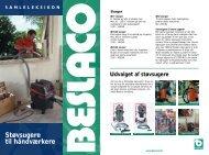 Støvsugere til håndværkere - Beslaco