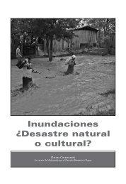Inundaciones Â¿Desastre natural o cultural?