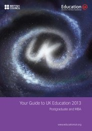 Your Guide to UK Education 2013 (pdf) - International Unit