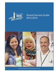 Shared Services Guide 2013-2014 - Eastern Suffolk BOCES