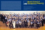LMU – Munich School of Management Magazine – 2005/06