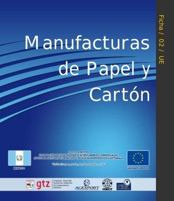 Manufacturas de papel y cartón