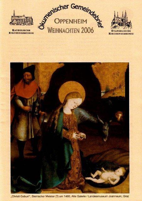 Ökumenischer Gemeindebrief Advent 2006 - Evangelische ...