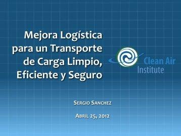 Presentación Sergio Sánchez - Instituto Global para la Sostenibilidad