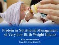 Download PDF of presentation - Mead Johnson Nutrition