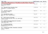 Klassik - Gesang/ Classic Music - Record Collectors