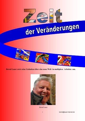 Zeit für Veränderungen - Kunst - Bernd Lauer