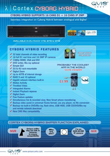cyborg hybrid - Qvis Security