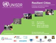 Resilient Cities - Rio+20