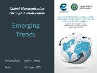 Emerging Trends - AiXM
