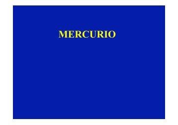 Metalli: piombo, mercurio, cromo - Università dell'Insubria