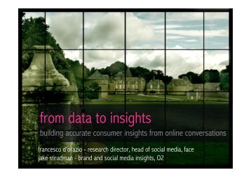 from data to insights - Research-live.com