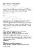 11 July 2010 15.00 – 17.30 Workshops Sprache: Deutsch Language ... - Page 5