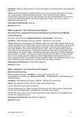 11 July 2010 15.00 – 17.30 Workshops Sprache: Deutsch Language ... - Page 6