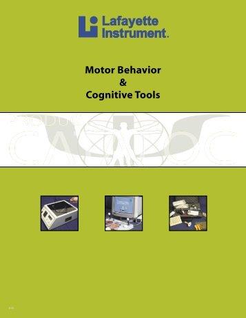 1 Motor Behavior & Cognitive Tools - Limef.com