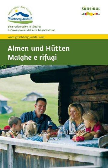Hüttenführer - Parkhotel Holzer Hof
