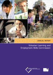 Victorian Learning and Employment Skills Commission (PDF - 3.5Mb)