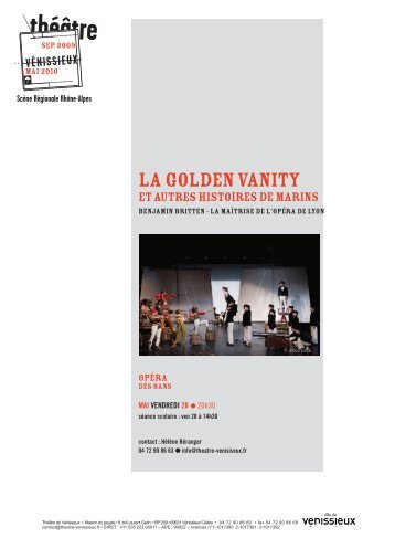 Mise en page 1 - Théâtre de Vénissieux