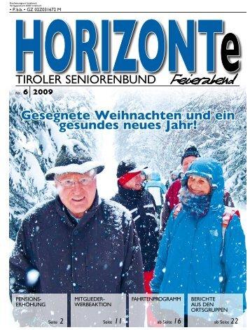 ortsgruppen - Tiroler Seniorenbund