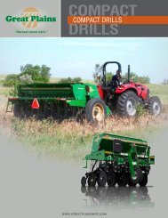 COMPACT DRILLS - Great Plains Manufacturing