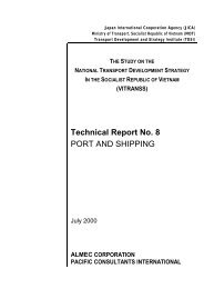 Technical Report No. 8 PORT AND SHIPPING