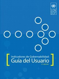 Guía del Usuario ] - Governance Assessment Portal