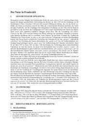 Der Notar in Frankreich - Europäisches Anwalts- und Notarrecht ...