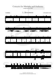 MarimbaCto-Mvt1 - SVITZER - CUE NOTES - 011G ... - Edition Svitzer