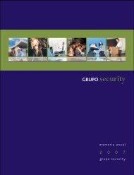 Memoria 2007 - Banco Security