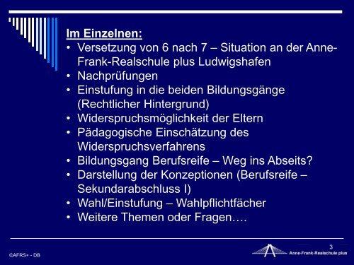 Anne frank realschule ludwigshafen