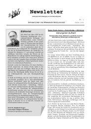 Newsletter - Prof. Dr. Reinhard Greger