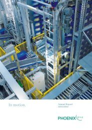 Annual Report 2011-12 (PDF) - PHOENIX group