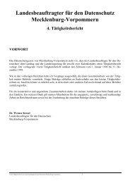 """4. arbeitskreis """"technische und organisatorische datenschutzfragen"""""""