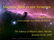Magnetic fields in star formation - UNAM