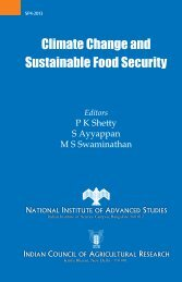 Climate Change and Sustainable Food Security - ePrints@NIAS
