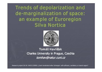 marginalization of space