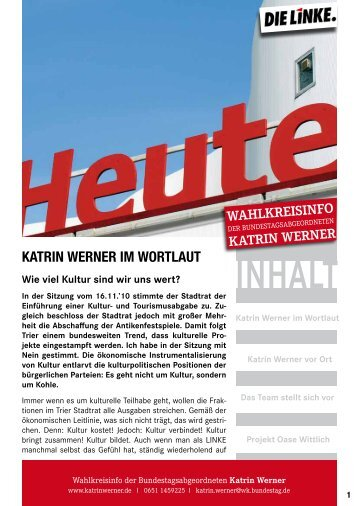 November - DIE LINKE. Katrin Werner