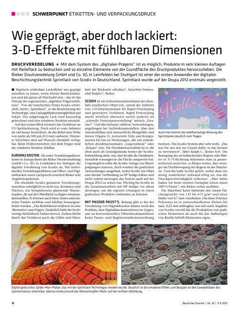 am besten verkaufen Outlet-Verkauf elegante Form PDF zum Download - Rieker Druckveredelung GmbH + Co. KG