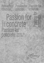 + Passion for concrete Magazin - Passion for concrete - Ing. Hans ...