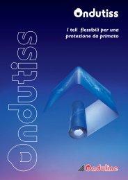 Opuscolo commerciale Ondutiss - Onduline