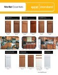 cabinetry - Excel Homes - Page 5