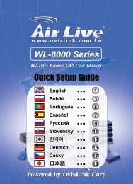 WL-8000 Series - AirLive