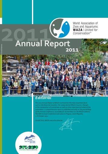 Annual Report - WAZA