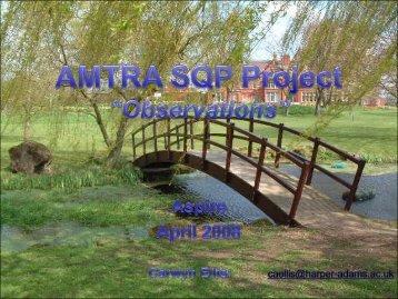 AMTRA SQP Project Presentation