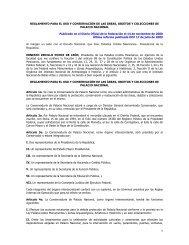 REGLAMENTO PARA EL USO Y CONSERVACIÓN DE LAS ÁREAS ...